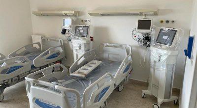 A.O. Villa Sofia Cervello Pad. A – Realizzati 32 posti di terapia sub intensiva e 1 di terapia intensiva